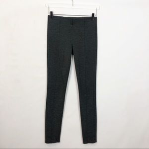 Talula Charcoal Heather Ponte Knit Leggings 4